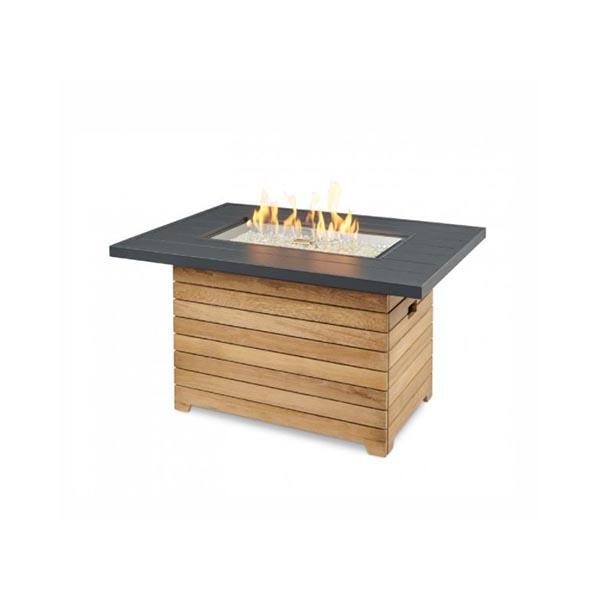 Darien Aluminum Gas Fire Pit Table 1