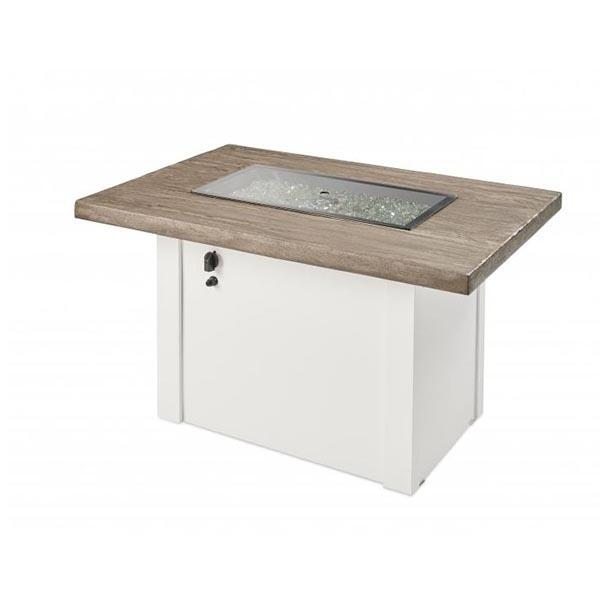 Havenwood Fire Table with gray glass cover