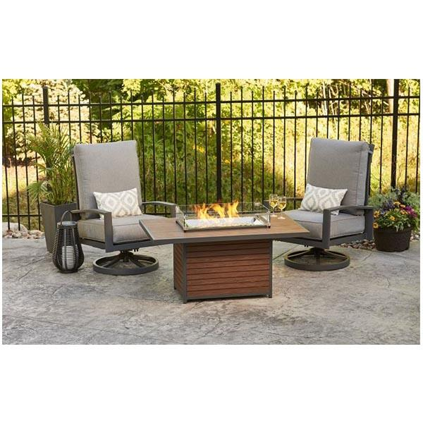 Kenwood Rectangular Chat FireTable by The Outdoor GreatRoom Company
