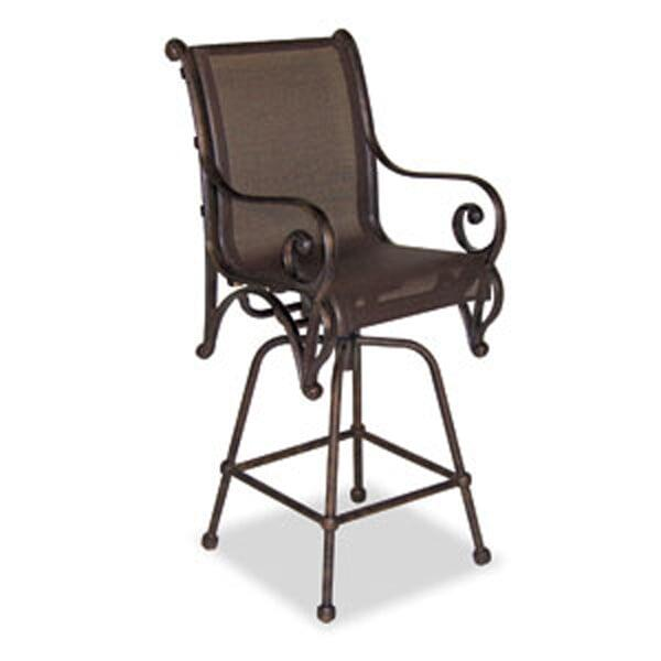 Simply the Best in Sling Outdoor Patio Bar Stools