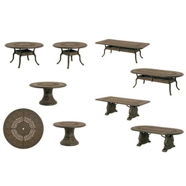 St. Moritz Tables by Hanamint
