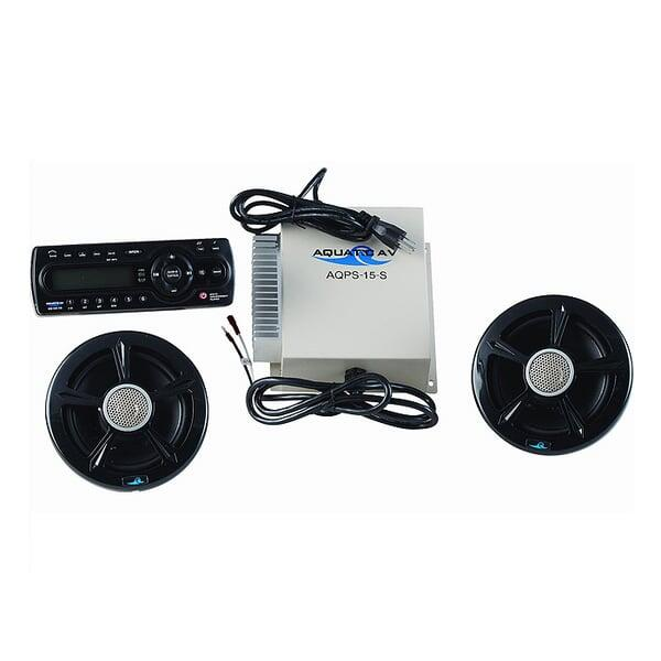 CD Stereo with Speakers by Bull Grills