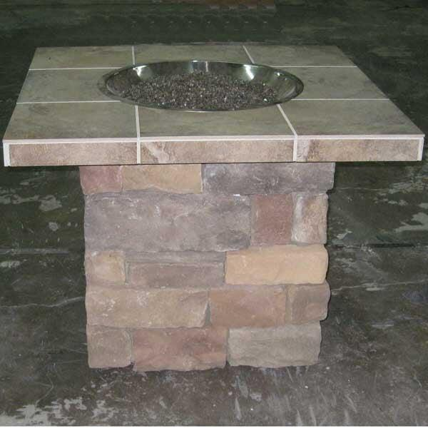 Parker Fire Pit Project by Leisure Select