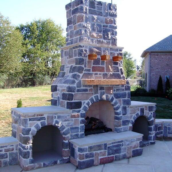 Tyner Fireplace Project by Leisure Select