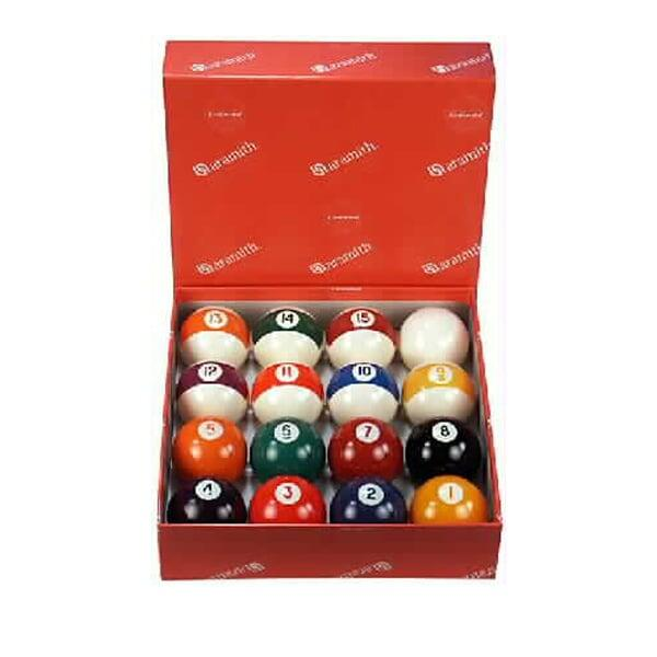 Aramith Belgian Pool Balls by Family Leisure
