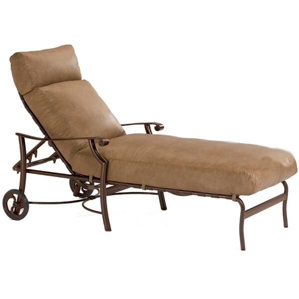 Montreux Cushion Chaise Lounge by Tropitone