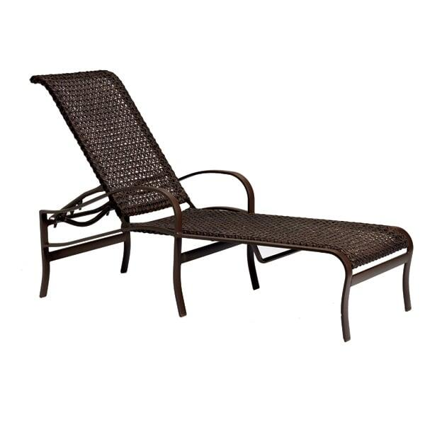 Palladian Lattice Chaise Lounge by Tropitone