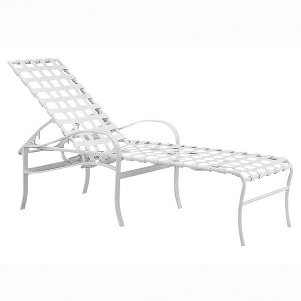 Palladian Strap Chaise Lounge by Tropitone