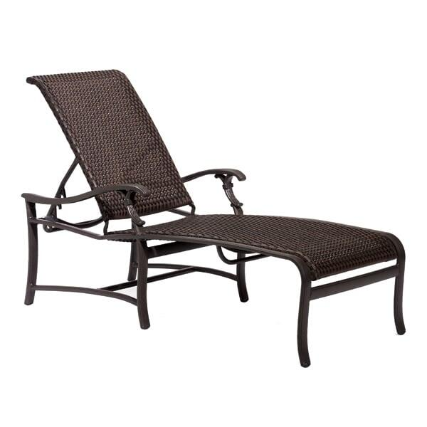 Ravello Woven Chaise Lounge by Tropitone