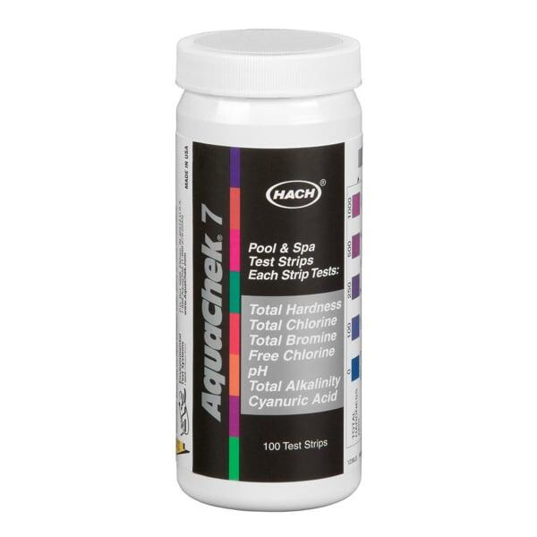 Aquachek Silver 7 in 1 Test Strips by Hach