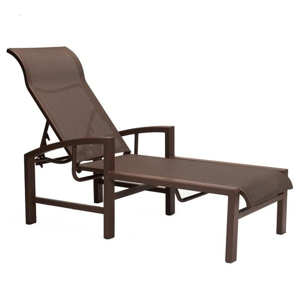 Lakeside Sling Chaise Lounge by Tropitone