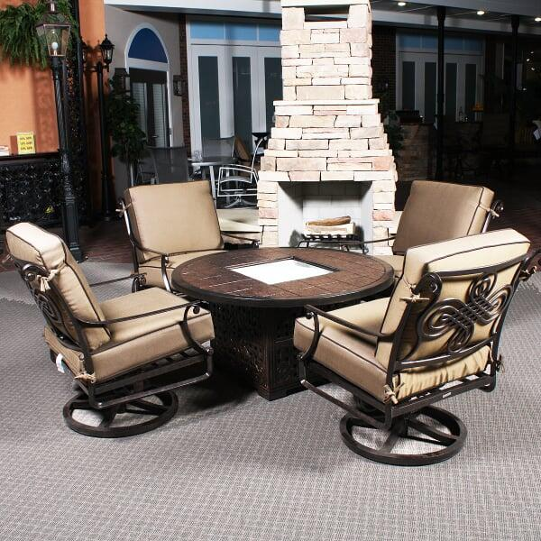 Monte Cristo Firepit By Cast Classic