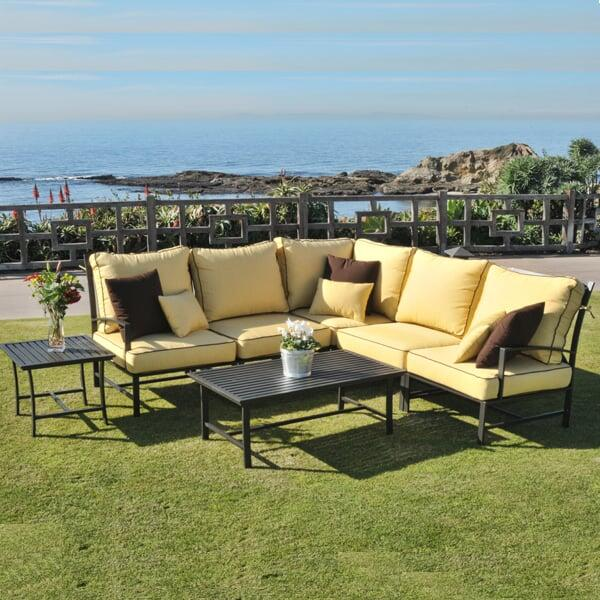 San Michelle Sectional by Caluco