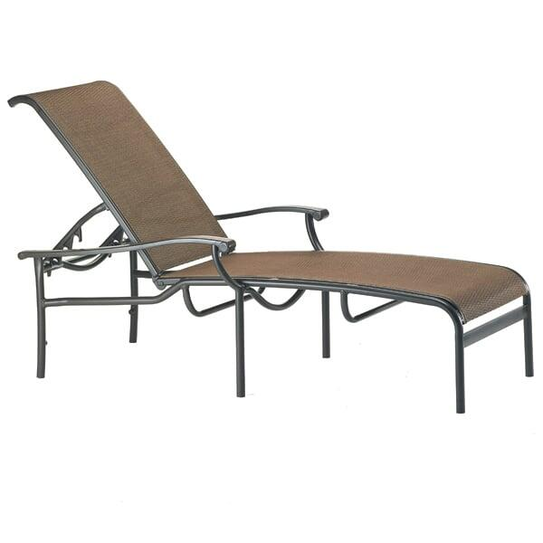 Sorrento Sling Chaise Lounge by Tropitone