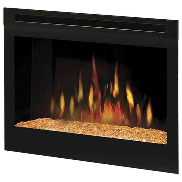 "25"" Electric Firebox w/ Glass Ember Bed by Dimplex"