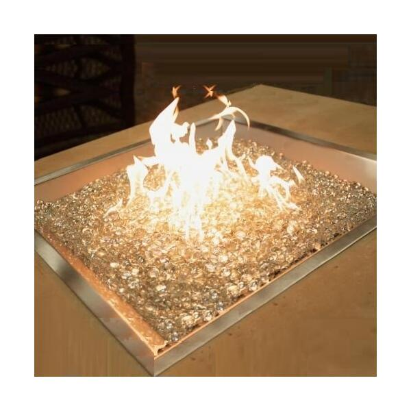 "24"" x 24"" Square Fire Burner by Outdoor GreatRoom"