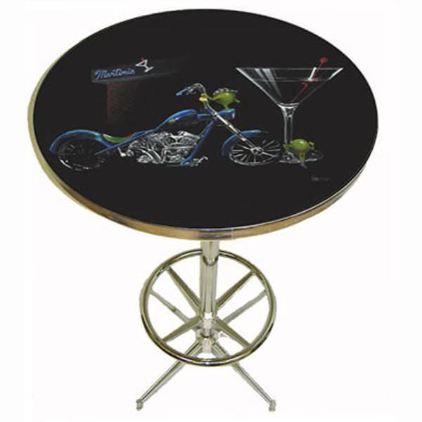 Custom Martini Pub Table by Michael Godard