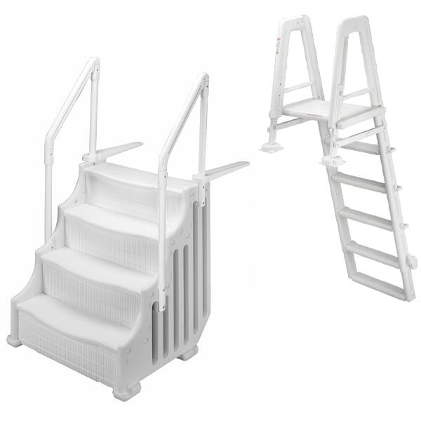 "38"" Mighty Entry Step w/ Outside Ladder by Family Leisure"