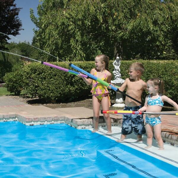 A Jumbo Water Launcher Perfect For The Swimming Pool, Ocean or Lake!