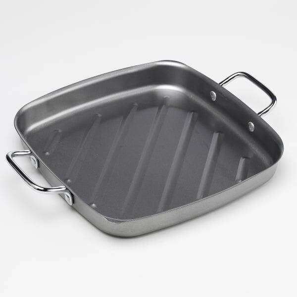 Non-Stick Square Grill Pan by Bull Grills