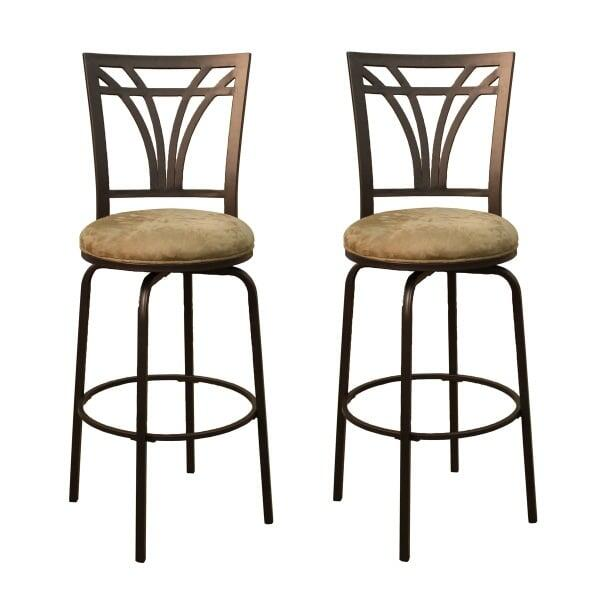 Arbor Set Of 2 Bar Stools By American Heritage