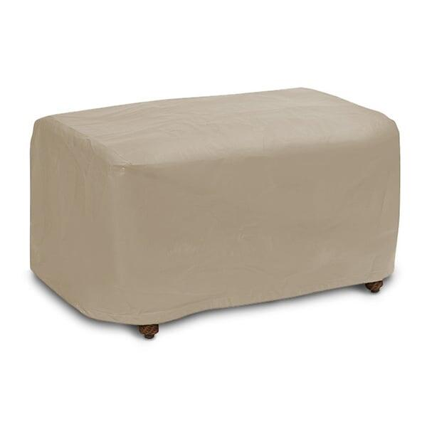 Small Ottoman Cover by Protective Covers Inc