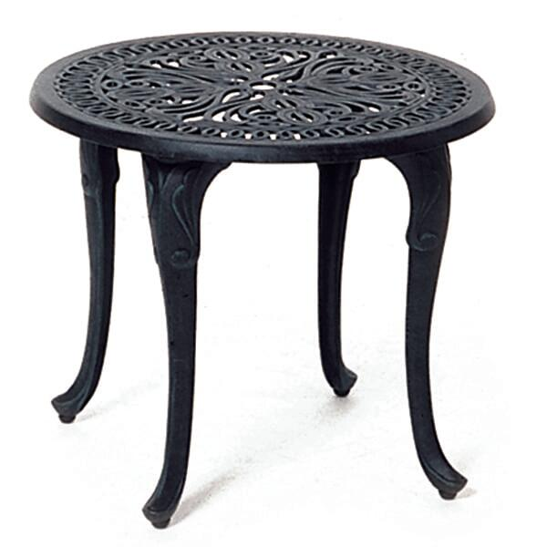 hanamint tuscany 21 round tea table patio accessories